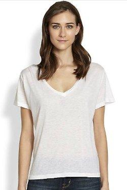 J Brand  - V-Neck Tee Shirt