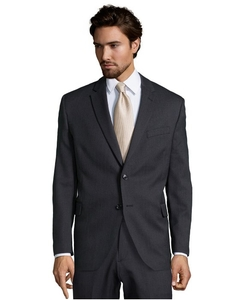 Hilton Club  - Jim Charcoal Stripe Suit Jacket