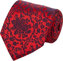 Penrose London - Floral Brocade Neck Tie