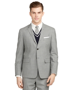 Brooks Brothers - Stripe Darted Suit