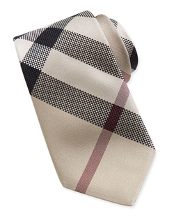 Burberry	  - New Classic Check Tie