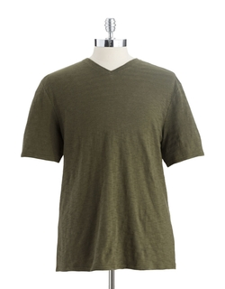 Black Brown 1826 - Heathered V-Neck T-Shirt