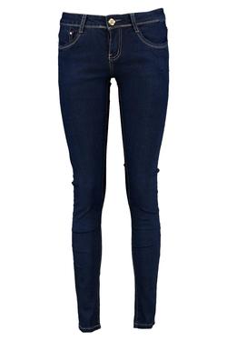 Boohoo Blue - Jess Mid Rise Super Skinny Jeans