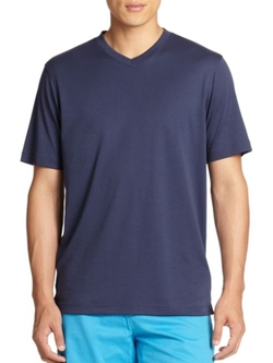 Saks Fifth Avenue Collection  - V-Neck T-Shirt
