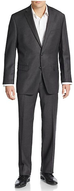 Calvin Klein - Slim-Fit Wool & Silk Suit