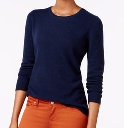 Charter Club  - Cashmere Crew-Neck Sweater