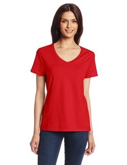 Hanes - Short Sleeve Nano-T V-Neck Tee Shirt