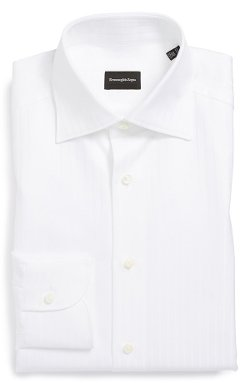 Ermenegildo Zegna - Regular Fit Solid Dress Shirt