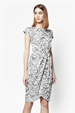 French Connection - Leo Jacquard Print Dress