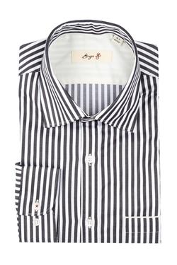 Borgo 28 -  Wide Bengal Stripe Dress Shirt