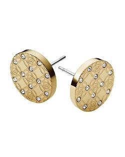 Michael Kors - Monogram Stud Earrings