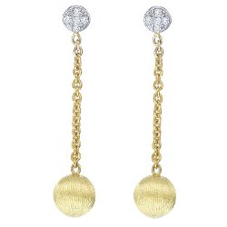 Timeless Jewelry Collection - Gold Long Drop Earrings