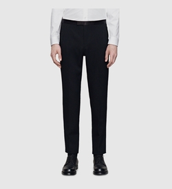 Gucci - Stretch Grain De Poudre Wool Skinny Evening Pant