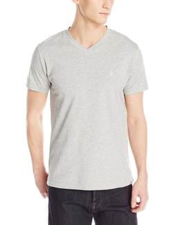 French Connection - Interlock V-Neck Tee Shirt