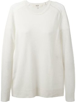 Vanessa Bruno Athé  - Mesh Sleeves Sweater