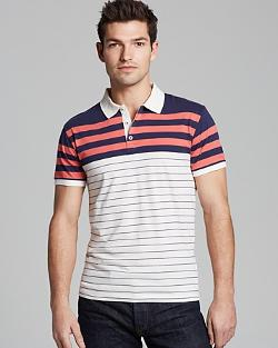 Gant Rugger  - Stripe Slim Fit Polo