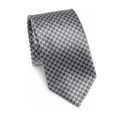 Brioni - Jacquard Printed Silk Tie