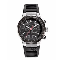Salvatore Ferragamo - Rubber-Strap Chronograph Watch
