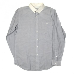 Patrik Ervell  - Contrast Collar Cotton Shirt