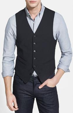 John Varvatos Star USA  - Red Label Vest
