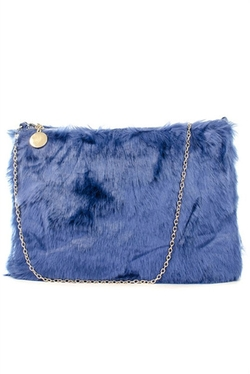 Very Honey - Furry Friend Faux Fur Clutch Bag