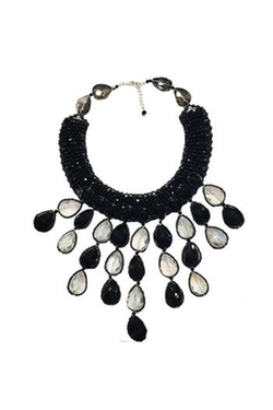 Ananda - Black & White Necklace
