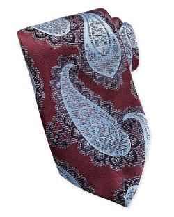 Ermenegildo Zegna - Textured Grenadine Paisley Woven Tie