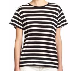 R13  - Striped Boy Tee
