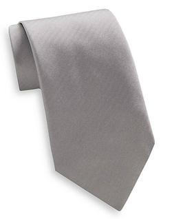 Valentino  - Tonal Repp Stripe Silk Tie