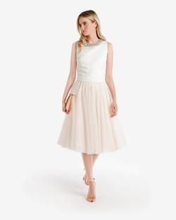 Ted Baker London - Odella Embellished tutu skirt