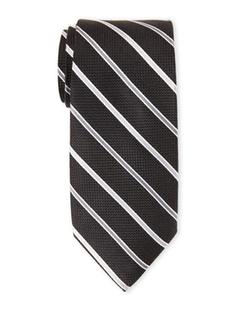 Isaac Mizrahi - Stripe Pattern Tie