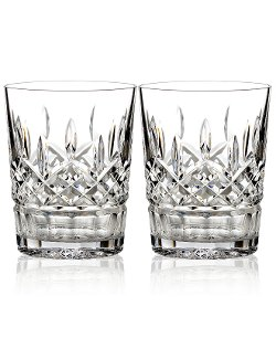 Waterford Barware - Lismore Double Old Fashioned Glasses