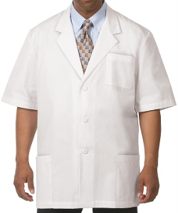 Uniform Advantage - Short Sleeve Button Front Lab Coat