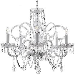 JCPenney - Gallery Venetian-Style 5-Light All-Crystal Chandelier