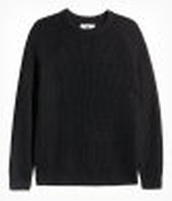 H&M - Rib-Knit Wool-Blend Sweater