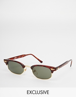 Reclaimed Vintage - Clubmaster Sunglasses