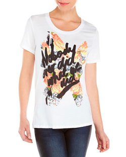 Rebecca Minkoff  - Nobody Ever Did What We Did T-Shirt