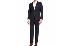 Versace  - Wide-Stripe Two-Piece Wool Suit