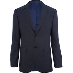 River Island - Tailored Fit Suit Jacket