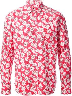 DEPARTMENT 5  - floral print shirt
