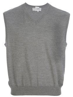 Dolce & Gabbana -  V-Neck Sweater Vest