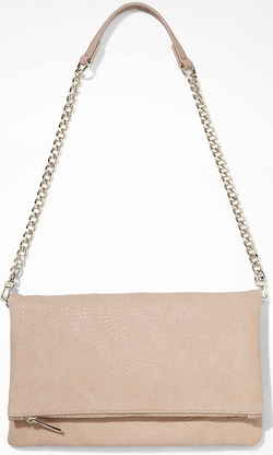 Express - Fold-Over Convertible Clutch Bag