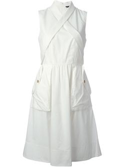 Marc By Marc Jacobs   - Crisscross Strap Detail Dress