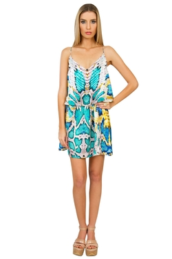 Caffe Swimwear - Silk Playsuit