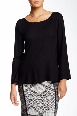 Ella Moss - Surplice Back Blouse