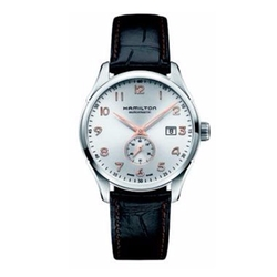 Hamilton - Jazzmaster Maestro & Embossed Leather Strap Watch