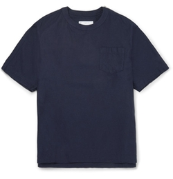 Sacai - Zip-Embellished Cotton T-Shirt