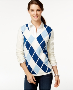 Tommy Hilfiger - Argyle Sweater