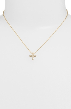 Judith Jack  - Reversible Pavé Cross Pendant Necklace