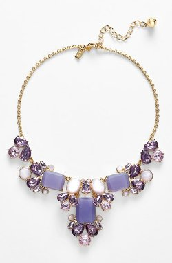 Kate Spade New York  - Glitzy Spritz Statement Necklace